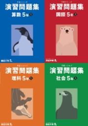 予習シリーズ 演習問題集 5年 (上)・(下)